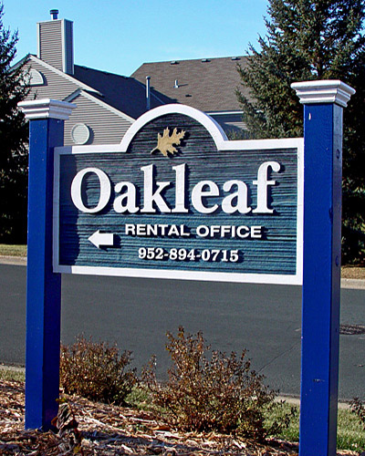 Sandblasted or Routed Sign